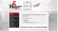 Preview of hr-trockenbau.de