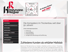 Tablet Preview of hr-trockenbau.de